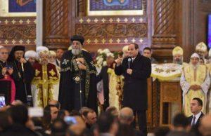 Doc. Presiden Mesir Abdul Fattah al-Sissi Resmikan Gereja Ortodok di Mesir / Doc.tribunjambi