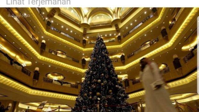 Merayakan Natal di Saudi